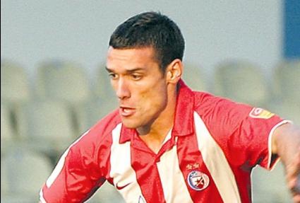Футболист на Цървена звезда се бие с фен