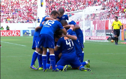 Крузейро постигна категорична победа срещу Наутико в Бразилия