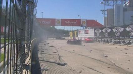 Дарио Франкити претърпя тежка катастрофа (видео)
