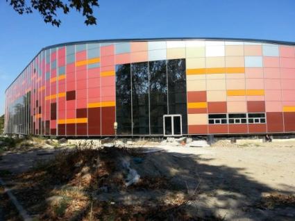 Строителството на новата спортна зала в Пловдив напредва (ГАЛЕРИЯ)