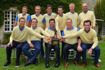 Европейците с титла от Seve Trophy за първи път от 13 години насам