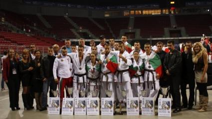 2 титли и 12 медала за България от световното по карате киокушин