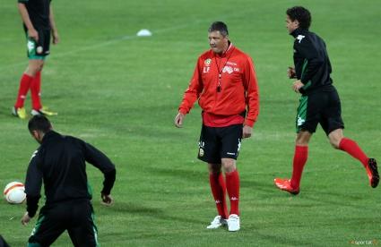 Промяна в програмата на националния отбор