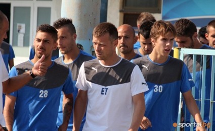 Елин Топузаков: Вярвам, че можем да сме шампиони