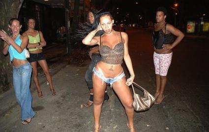 проститутка по американски