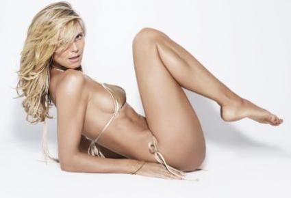 Хайди Клум в страхотна форма и на 40