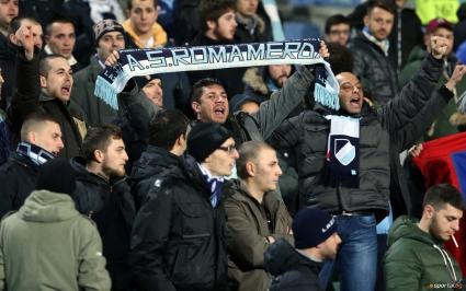 Фенове на Лацио се засякоха с тима на Лудогорец