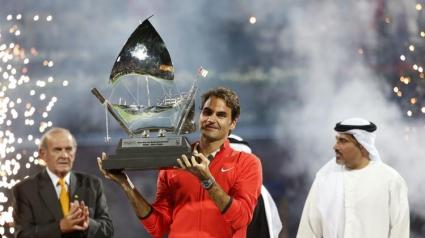 Федерер над всички в Дубай