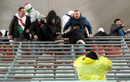 Прекратиха мач в Полша