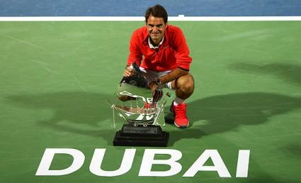"""Федерер печели """"Уимбълдън"""" винаги след титла в Дубай"""