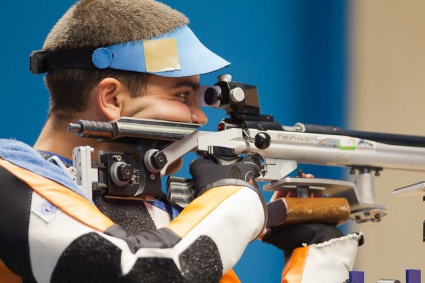 Ризов завърши на шесто място на 10 метра пушка на европейското