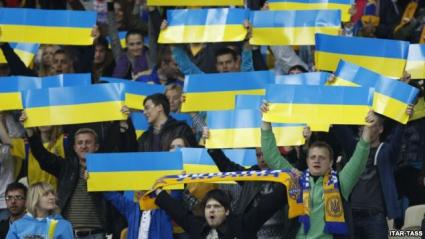 Футболната федерация на Украйна е била атакувана от хулигани