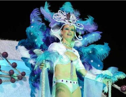 Каката на Роналдо участва в парада на карнавала в Мадейра