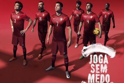 Португалия извади стилен екип за Мондиала (снимки)