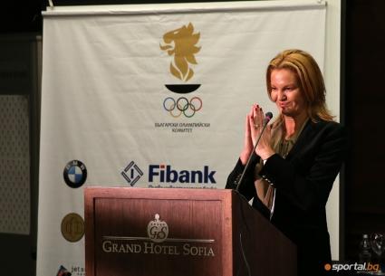 Стефка Костадинова открива Зимния младежки олимпийски фестивал