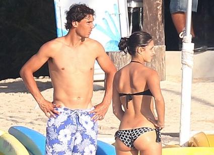 Надал се подготвя за Индиън Уелс на плажа в Мексико (снимки)