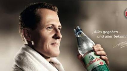Използваха лика на Шумахер в реклама