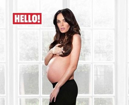Тамара Екълстоун позира бременна и гола