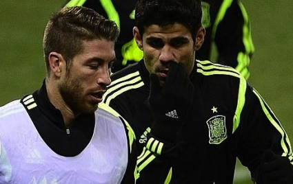 Диего Коща и Серхио Рамос вече са приятели