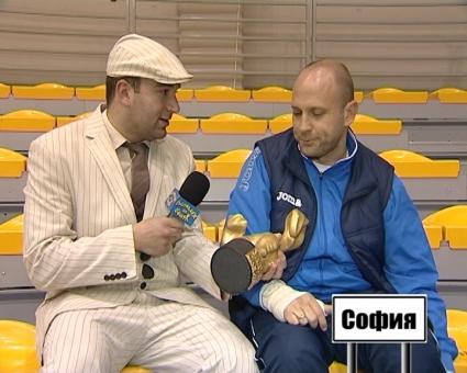 """""""Златен скункс"""" за Тити Папазов"""