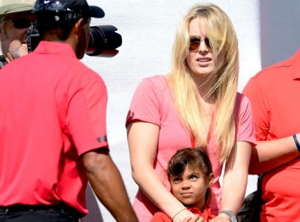 Линдзи Вон все по-близка с децата на Тайгър