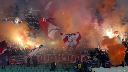 Агитка на Олимпия (Любляна) вика за ЦСКА