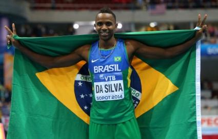 Бразилец защити титлата си в скока на дължина