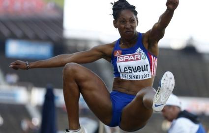 Французойка спечели титлата на скок дължина