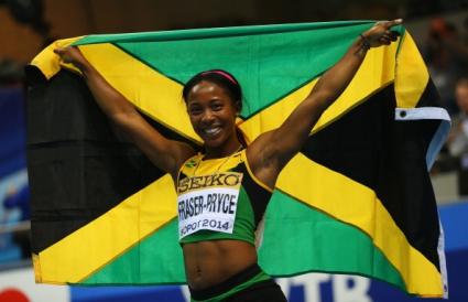 Шели-Ан Фрейзър-Прайс стана световна шампионка на 60 метра