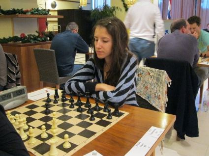 Две българки в челната тройка на шахматен турнир за жени в Риека