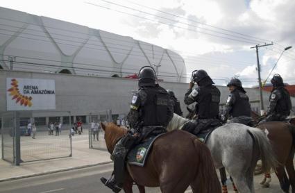 Проблеми със стадиона в Манаус