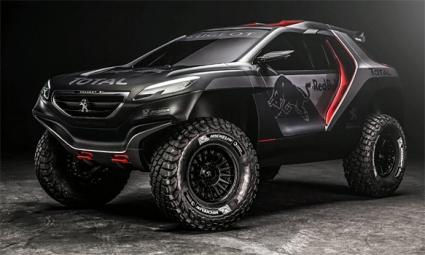 Пежо представиха снимки на новата си кола за Рали Дакар