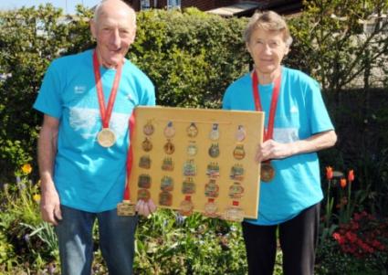78-годишна баба завърши своя маратон №200