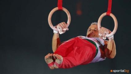 Йордан Йовчев дава открит урок за деца по спортна гимнастика