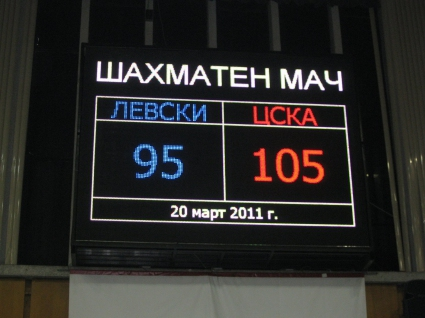 Левски и ЦСКА завършиха 100:100 на шахмат