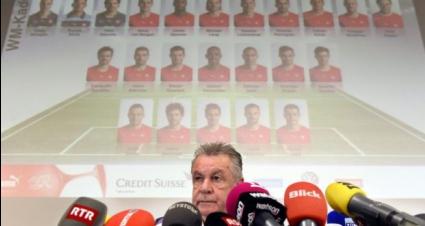 Хицфелд извика 9 футболисти от Бундеслигата в състава на Швейцария