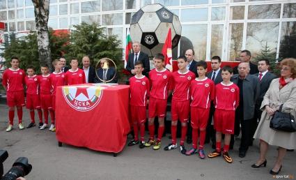 ЦСКА набира талантливи деца