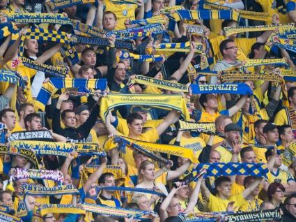 Забележителна фенска подкрепа в Германия (видео)