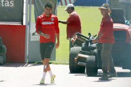 Диего Коща тренира в свободния ден, готов е за събота