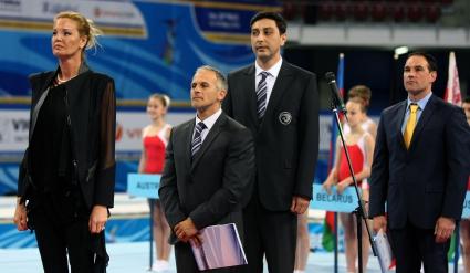 Европейското по спортна гимнастика официално е открито (галерия)