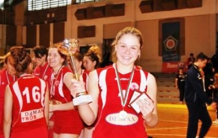 Гергана Димитрова: Очаквах да ни бъде по-трудно срещу Марица