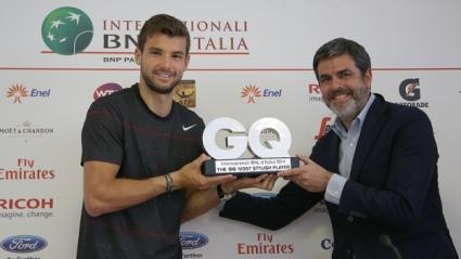GQ: Григор е най-стилният тенисист в Рим