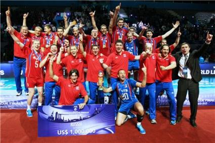 Русия иска финалите на Световната лига през 2015-та