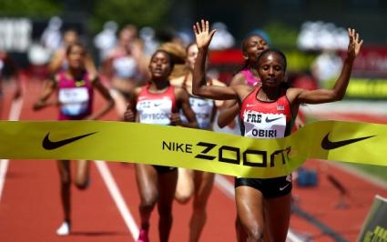 Убийствено темпо на 1500 м при дамите и куп рекорди в Юджийн