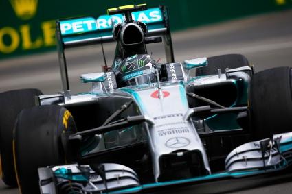 Розберг най-бърз при завръщането на Австрия във Ф1