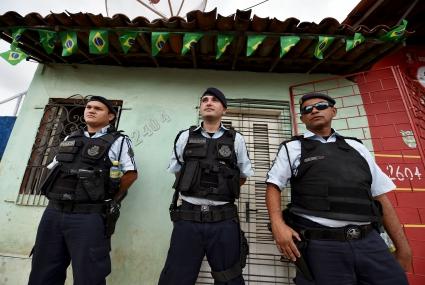 Повишават степента на сигурност на стадионите в Бразилия