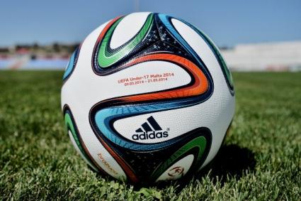 Новата Бразука е еднаква с топките от предишните световни
