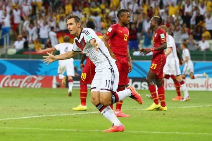 Германия - Гана 2:2 в мач за историята (видео+галерии)