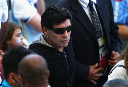 Марадона: Чили може да създаде проблеми на Бразилия