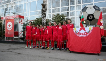 ДЮШ на ЦСКА започва записване на деца